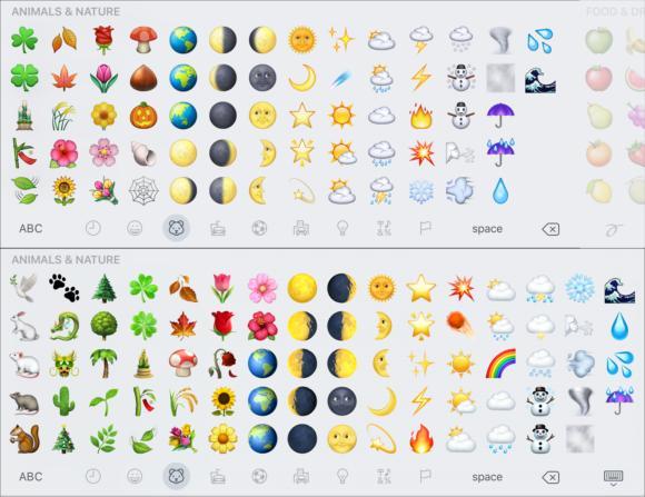 emoji compare animals2