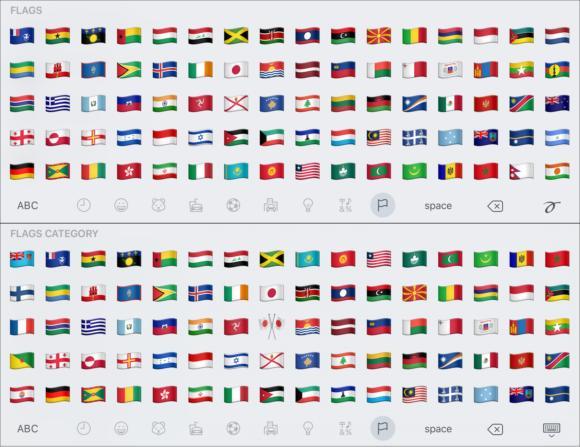 emoji compare flags2