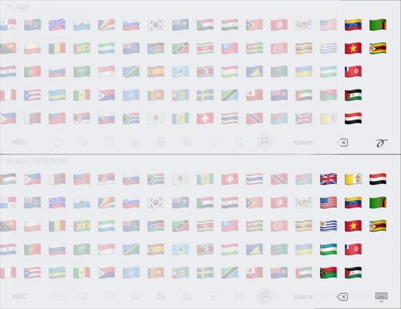 emoji compare flags4