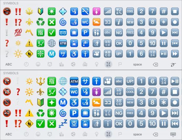 emoji compare symbols2