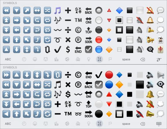 emoji compare symbols3