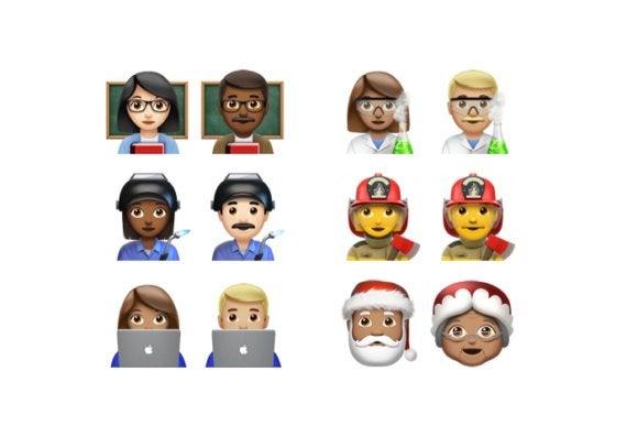 emoji unicode9 ios102 professions