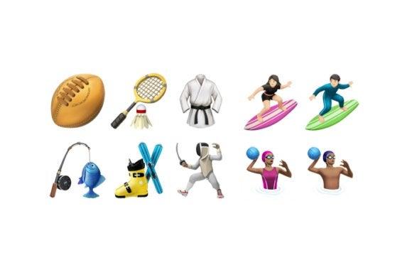emoji unicode9 ios102 sports