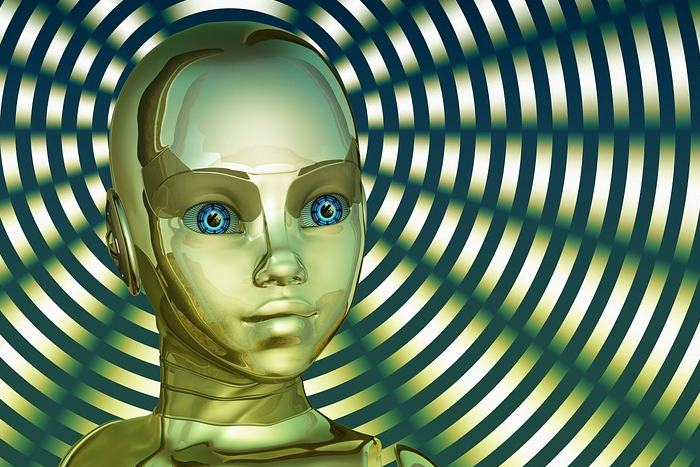 robot head pixabay