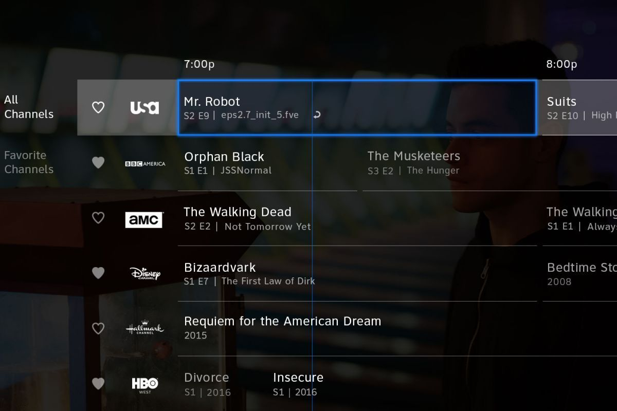 Sony playstation vue channels are now integrated into the fire tv.