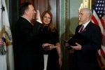 Pompeo sworn in as CIA chief amid opposition from surveillance critics