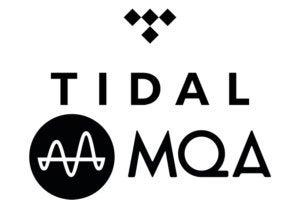 Tidal and MQA logos