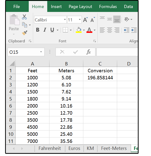 How Excel Can Help With Metric And American Standard