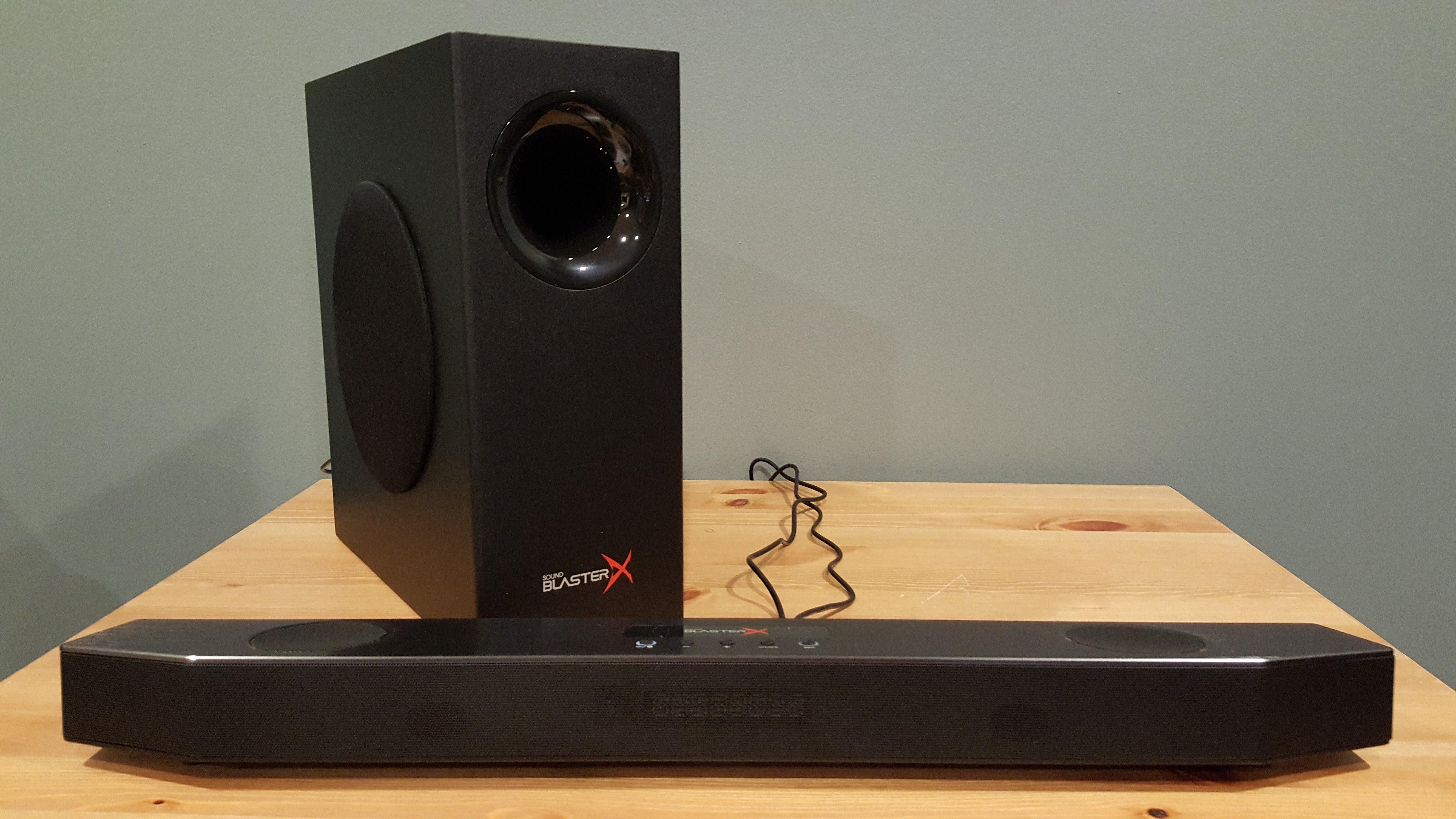 Creative Sound BlasterX Katana review: The soundbar finally makes its way to PCs | PCWorld