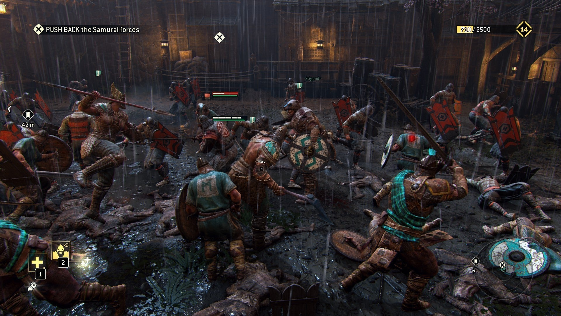 For Honor Review Satisfying Melee Kneecapped By