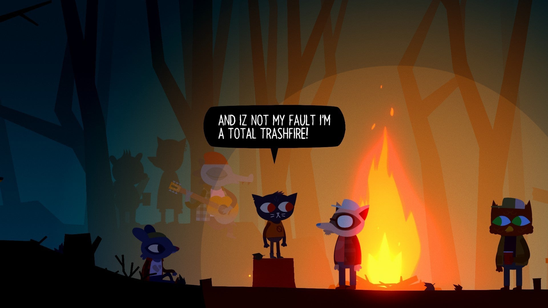 Image result for night in the woods