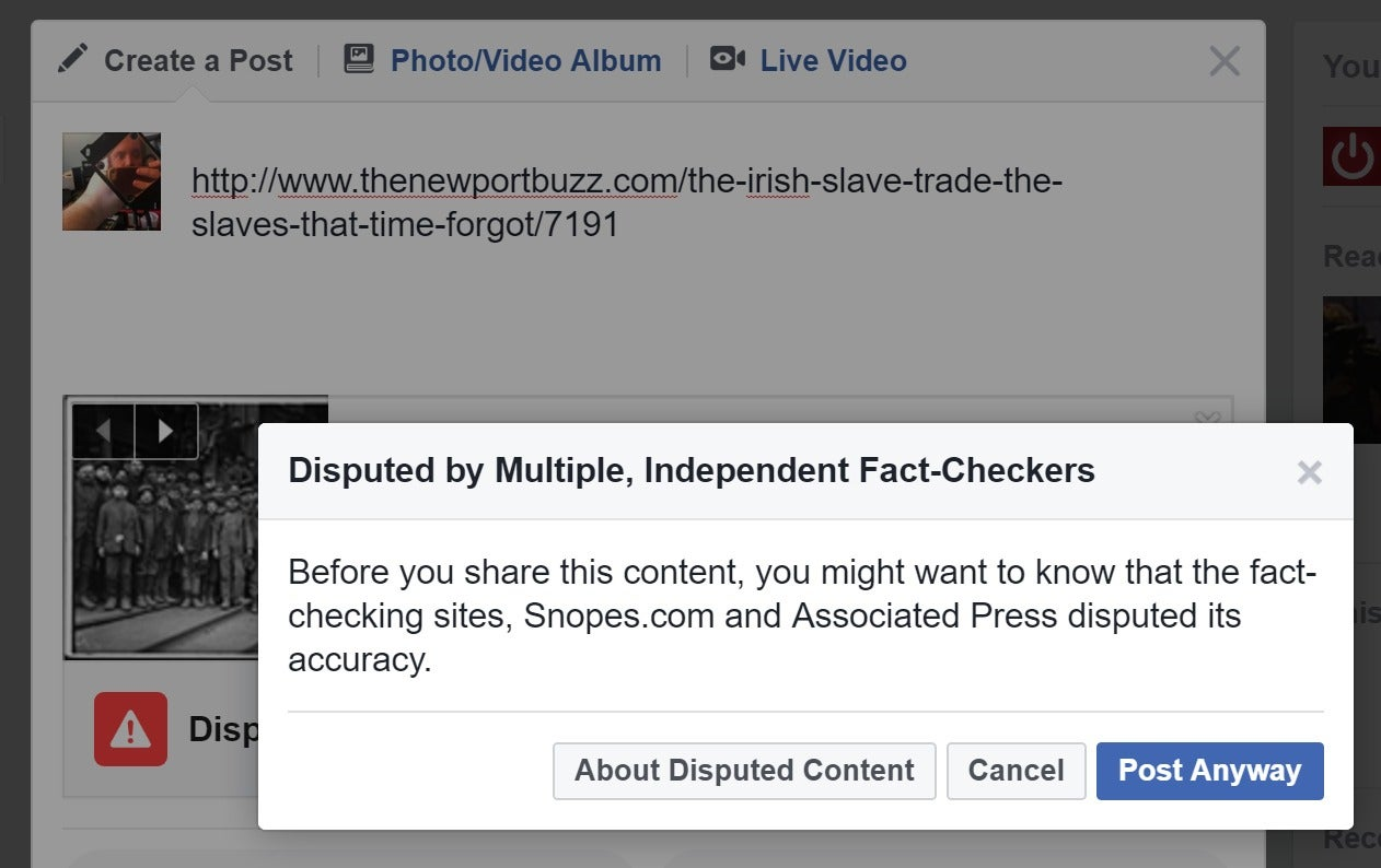 Facebook users warned to watch out for fake posts promising