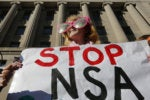 stop nsa protester