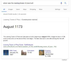 google pisa large