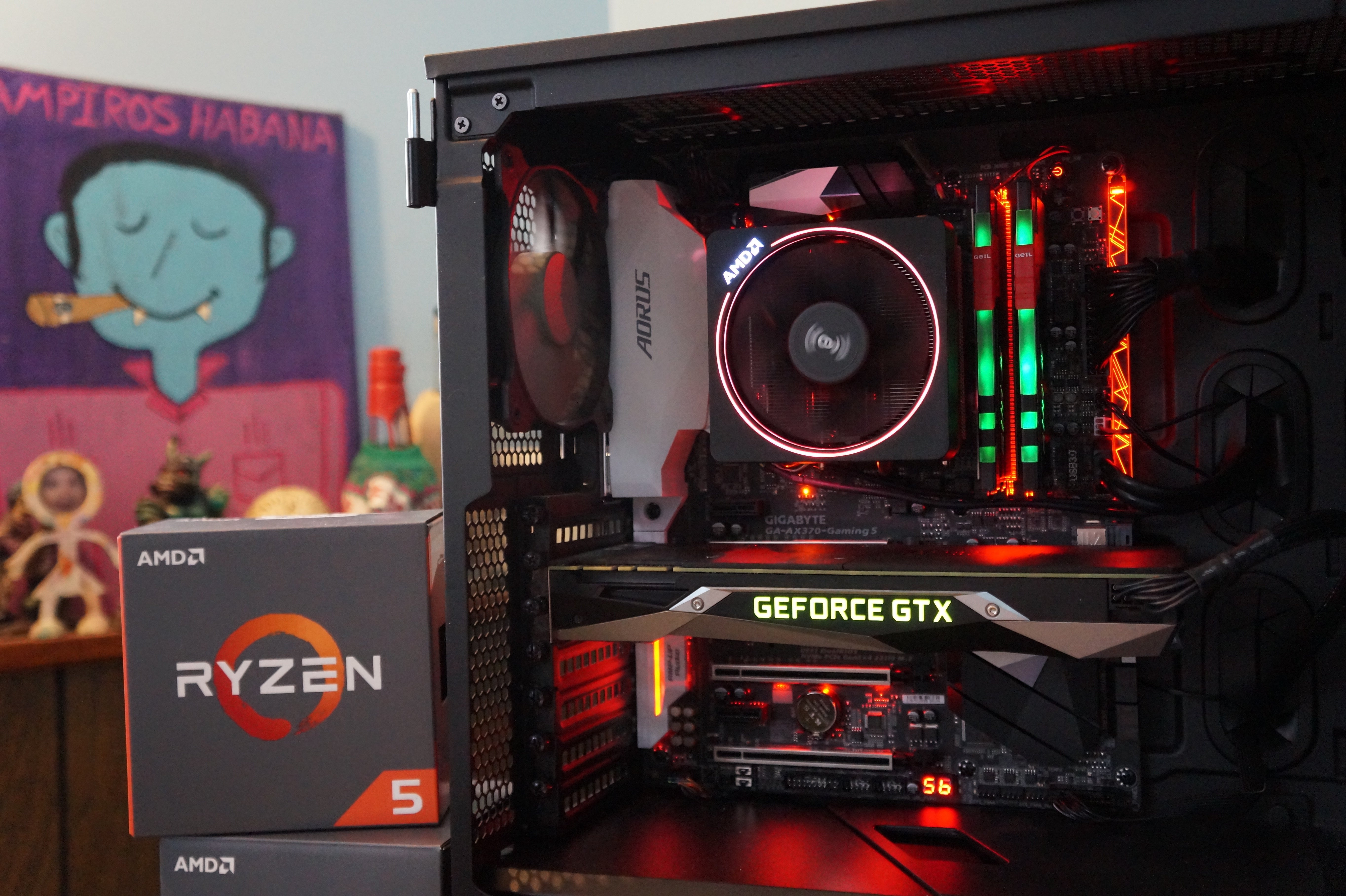 Ryzen 5 1600x Building A Versatile Work And Play Pc With