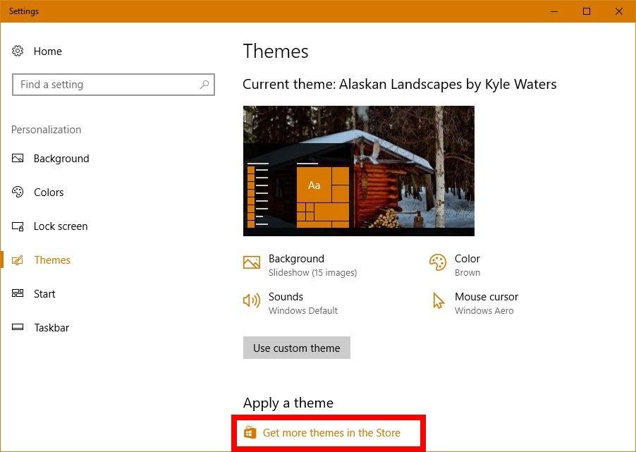How to find the Windows 10 Creators Update's hidden desktop themes