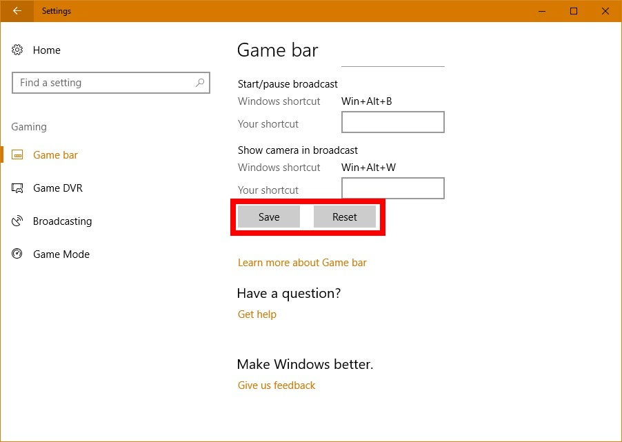 how to open game bar windows 10