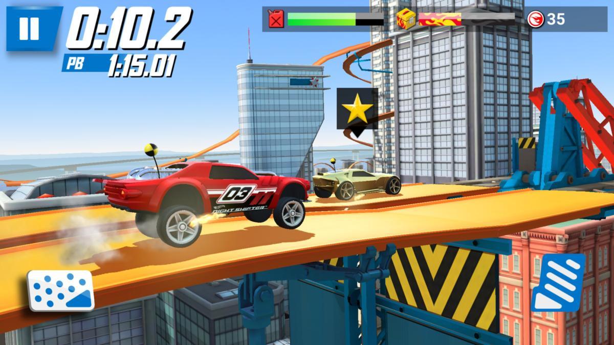 ios racing hotwheels