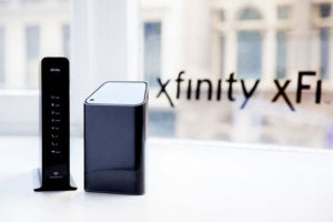 Comcast Xfinity xFi gateway and advanced gateway