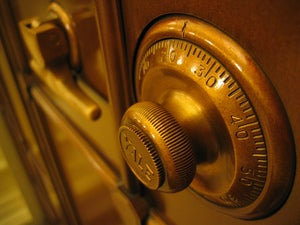 safe knob setting security