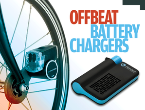 11 offbeat battery chargers: Portable power with a twist