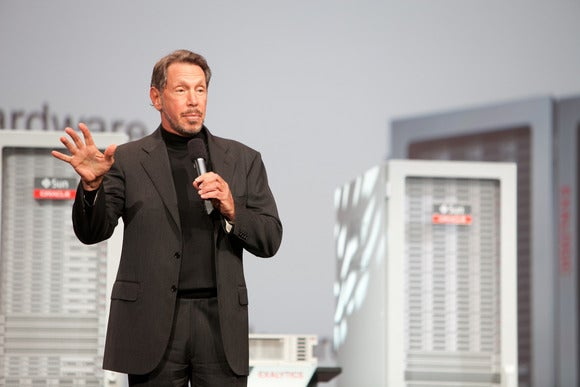 Ellison at Oracle OpenWorld 2011 (2)