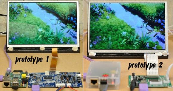 Prototype HDMIPi LCD monitor kit